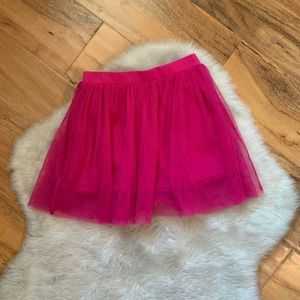 Kids Korner Girls Pink Tulle Skirt size 6x